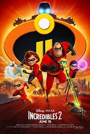 Movie: Incredibles 2 (2018)   Mp4 Download