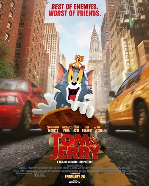 Movie: Tom and Jerry (2021) | HDCam Download