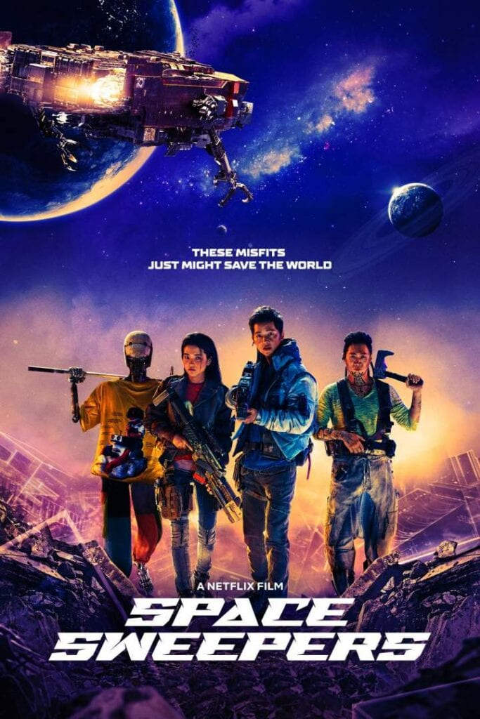 Movie: Space Sweepers (2021) Korean | Mp4 Download