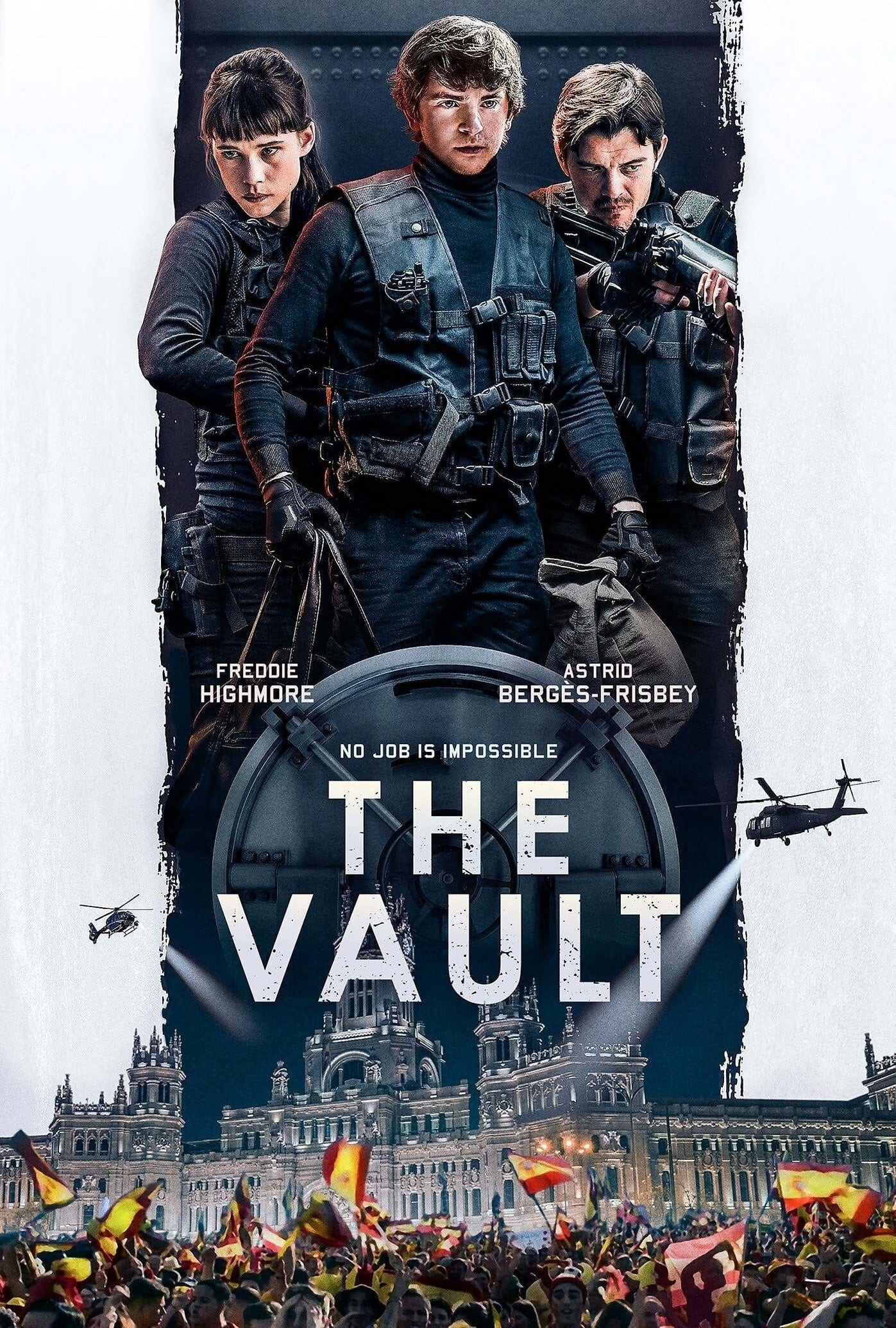 The Vault (Way Down) (2021) Full Hollywood Movie