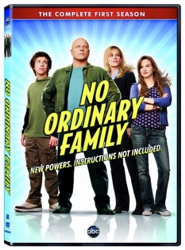 TV Series: No Ordinary Family Season 1 Episode 1 - 20 (Complete)