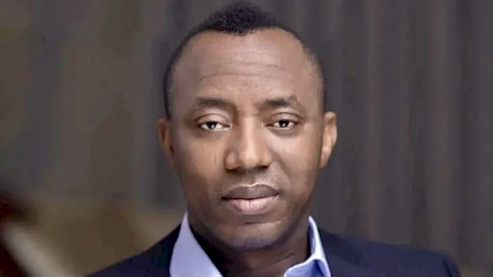 Sowore Shot during a Protest in Abuja