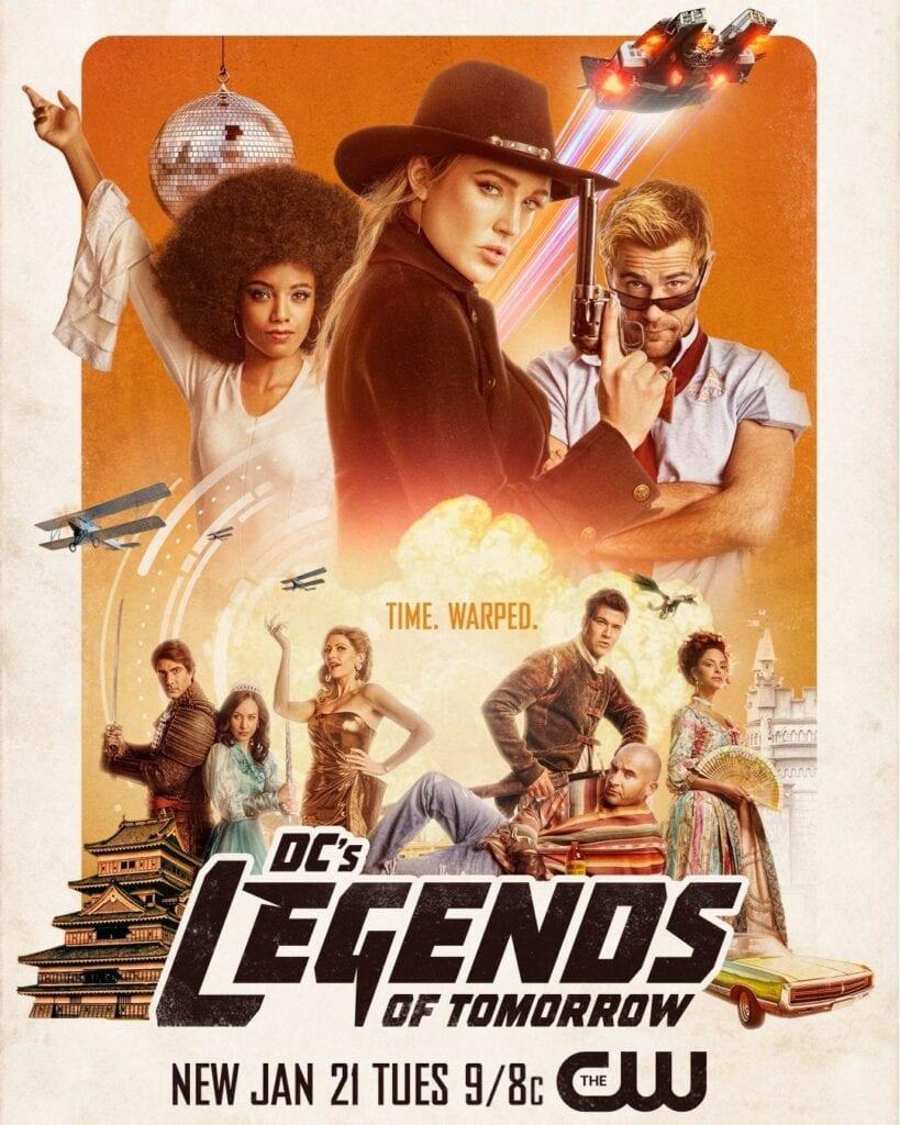 TV Series: Legends Of Tomorrow Season 6 Episode 1 – 3