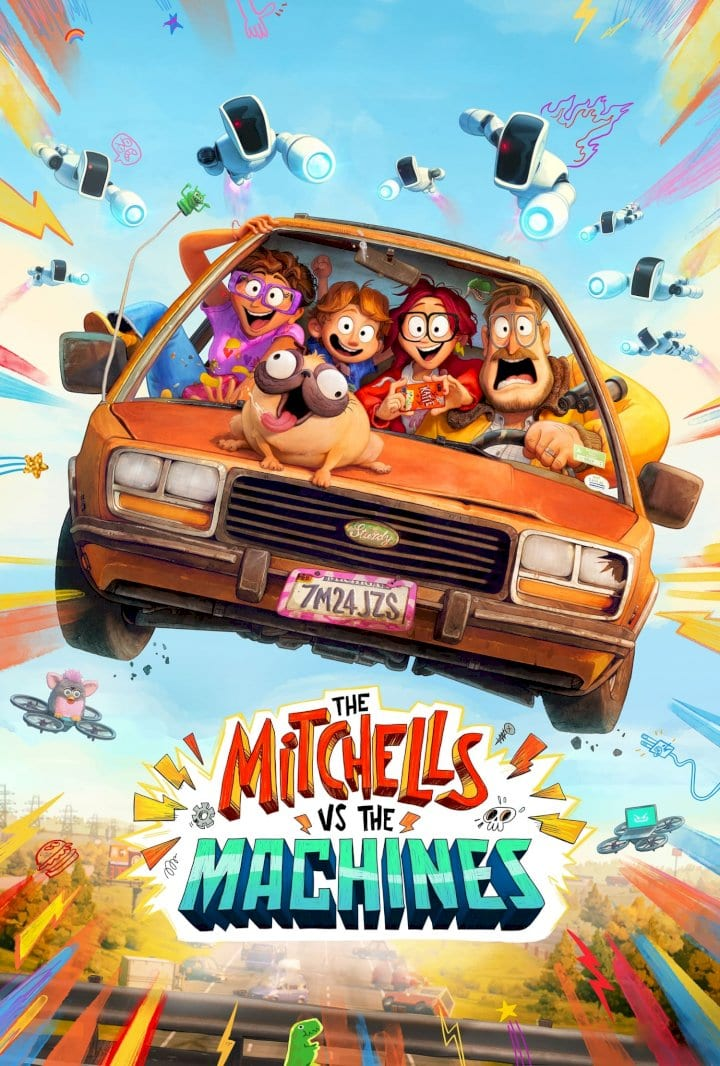 The Mitchells vs the Machines (2021) Full Hollywood Movie
