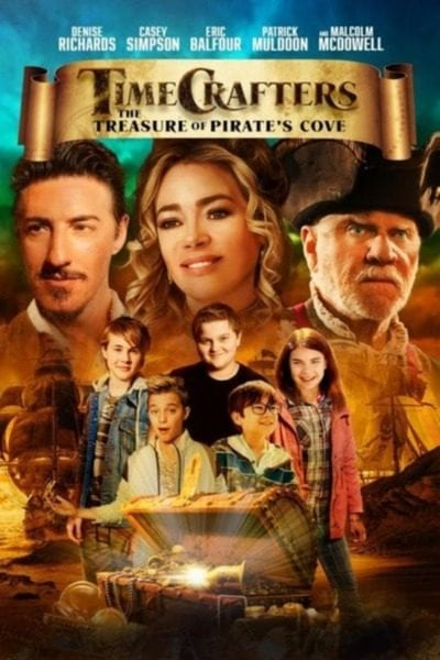 Timecrafters: The Treasure of Pirate's Cove (2021) Full Hollywood Movie