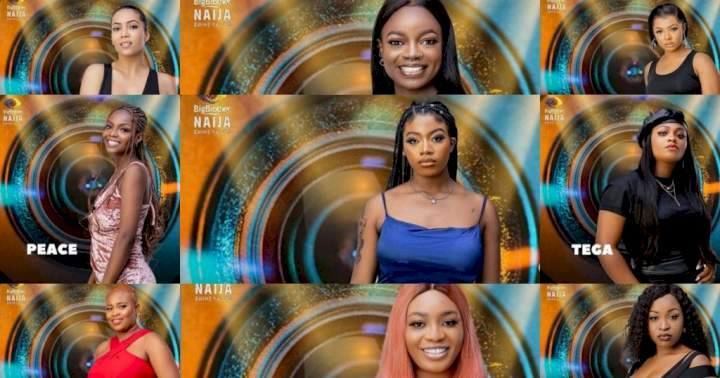 #BBNaija 2021: Meet all the female housemates (See Photos)