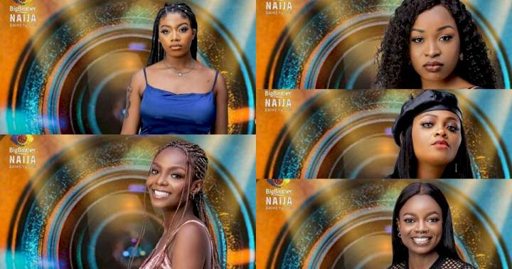 #BBNaija 2021: Meet the first five female housemates (See Photos)