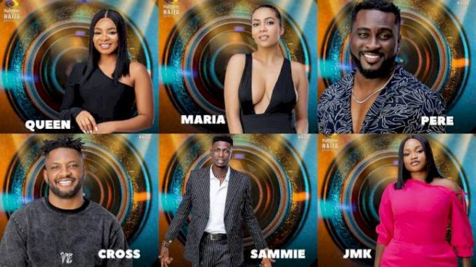 #BBNaija: Sammie, Maria and JMK evicted from Big Brother Brother